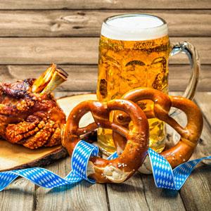 Cibo e Birra tradizionale bavarese