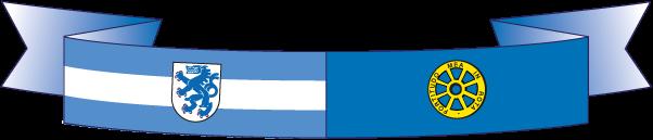 Bandiera gemellaggio Ingolstadt Carrara